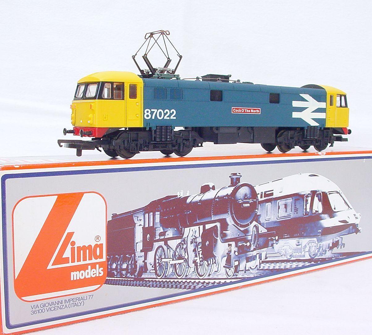 mejor marca Lima HO OO ferroCocheriles británicos clase clase clase 87 Gallo o`the norte Locomotora eléctrica MIB`85  Para tu estilo de juego a los precios más baratos.