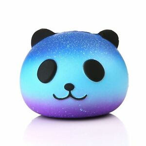 Kawaii Panda Scented Squishy Slow Rising Cute Phone Straps Pendant Soft Squeeze