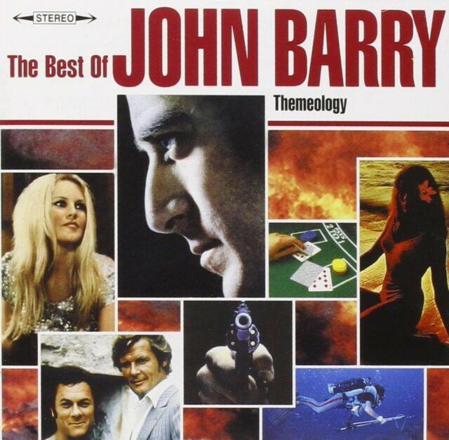 John Barry Best Of CD  NEW SEALED Goldfinger/From Russia With Love/Hit & Miss+