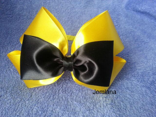 for girls... headbabd Jemlana/'s handmade Emma wiggle bow