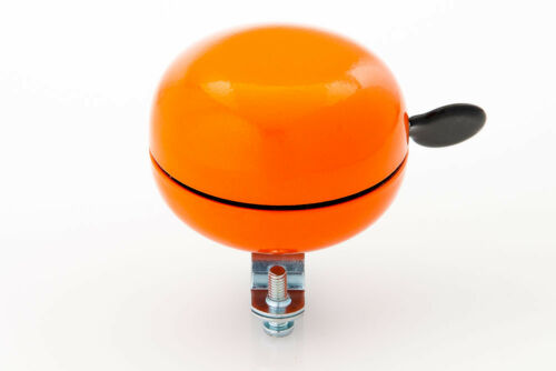 """Orange New 80mm Oversize /""""Ding-Dong Sound/"""" Bicycle Cycling Color Bell Horn"""