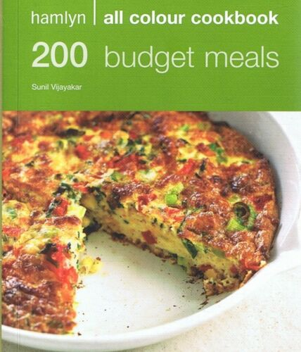 1 of 1 - 200 Budget Meals by Sunil Vijayakar (Paperback, 2008) FREE POST + Tracking