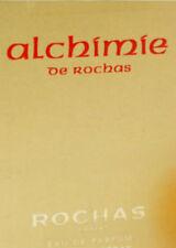 ALCHIMIE DE ROCHAS EAU DE PARFUM RARE! 8 x 2ml EDP SAMPLE SPRAY VIALS NEW