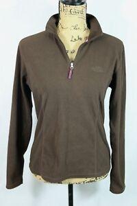 THE-NORTH-FACE-Women-039-s-Zip-Neck-Fleece-M-TKA-100-Warmth-Pullover-Jacket