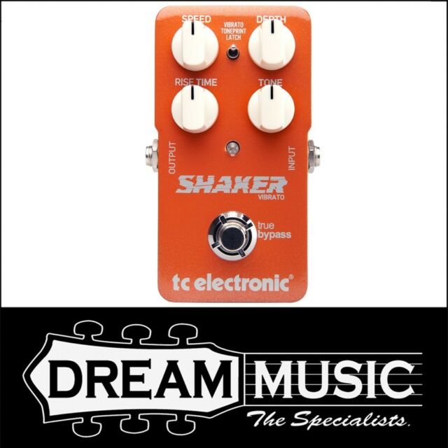 TC Electronic Shaker Vibrato Guitar Effects Pedal w/ TonePrint - Brand New!