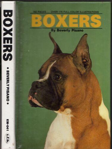 boxers by beverly pisano hardback 1991 ebay rh ebay com Boxer Dog Breed Boxing Dog Boxer