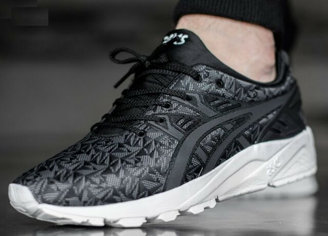 2f87b07ba Nuevo Asics Trainers Gel Kayano Evo Negro y Gris Oscuro tenis Hombre Mujer