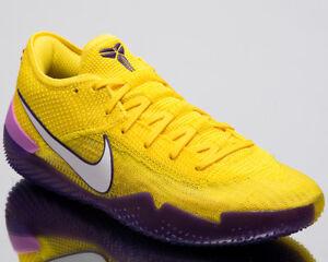 f426a827ff3 Nike Kobe AD NXT 360 Lakers Men New Mamba Yellow Basketball Sneakers ...