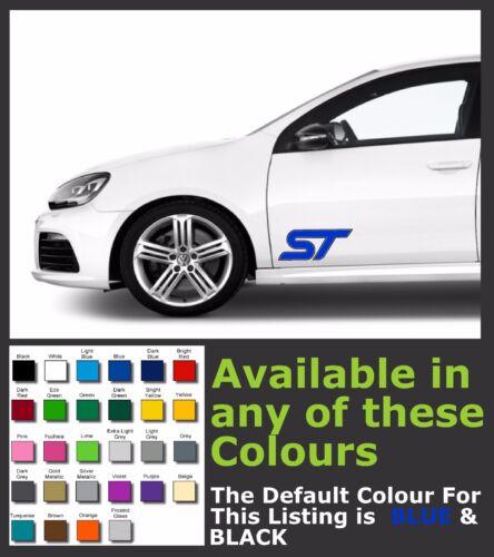FORD ST  Premium Decals//Stickers x 2