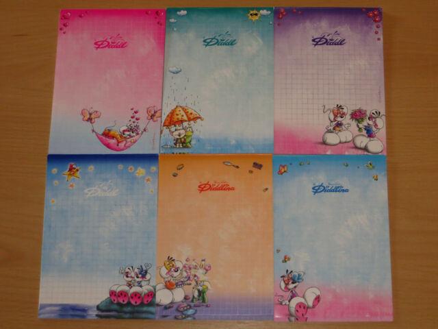 15 verschiedene Diddl Blockblätter DIN A4 nur bunte Set 1