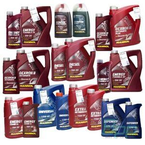 Mannol-Getrieboel-Motoroel-5W30-5W40-10W40-15W40-75W90-1L-gt-60L-Bremsfluessigkeit