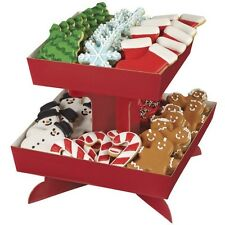 Red Square Treat Stand Tray from Wilton #0713 - NEW