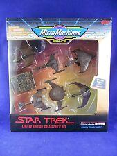 Star Trek 1995 Limited Edition Set – MIMP Collector #489 Micro Machines - Galoob