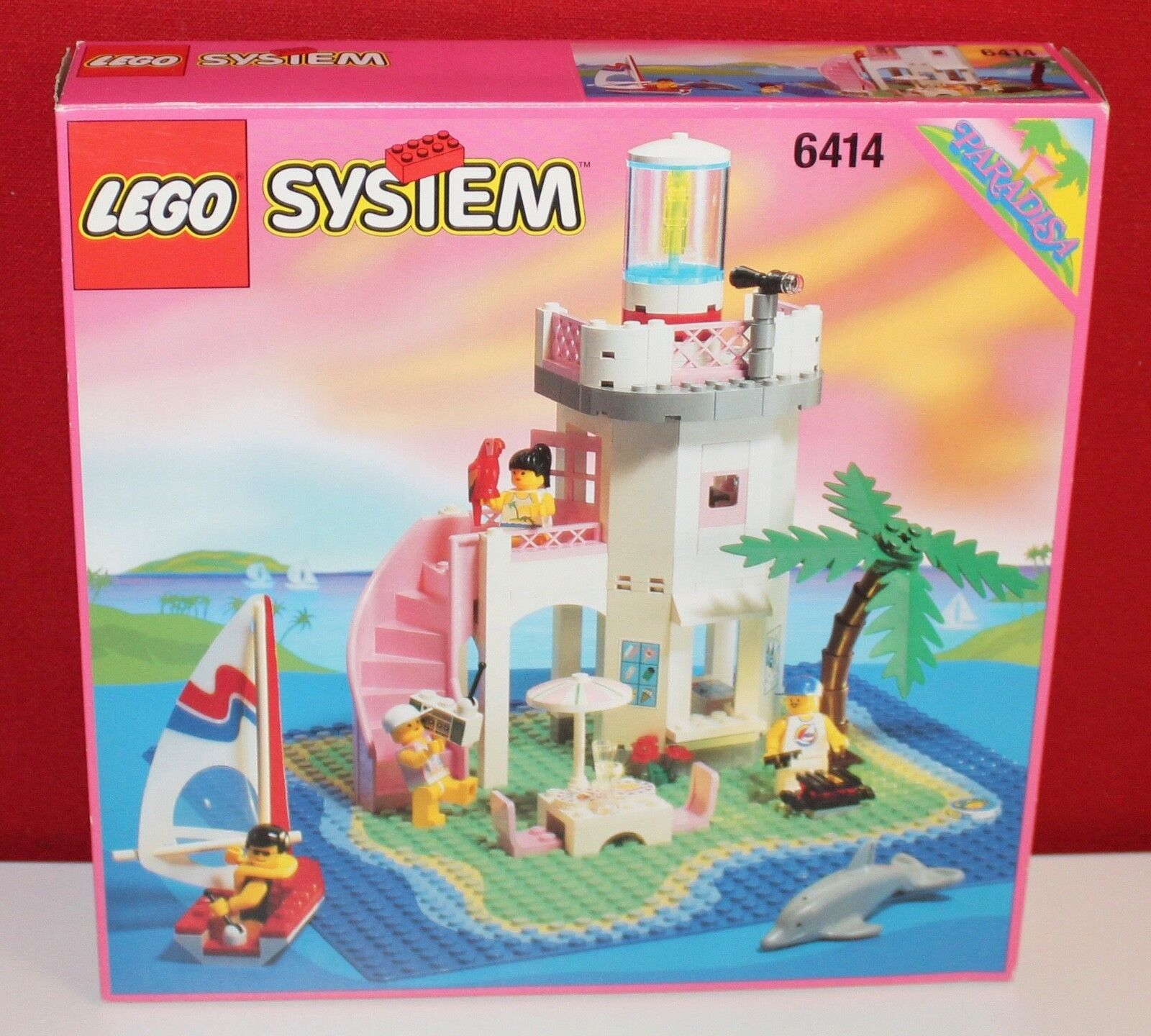 Lego Paradisa 6414 Dolphin Point aus 1995, OVP, OBA, BOX, TOP RARITÄT