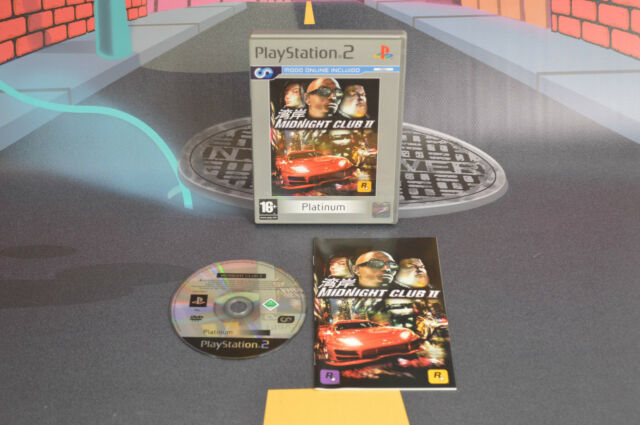 MIDNIGHT CLUB II PLAYSTATION 2 PS2 COMBINED SHIPPING