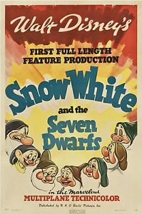 SNOW WHITE LAMINATED MINI MOVIE POSTER no 9 DISNEY - <span itemprop=availableAtOrFrom>Hyde, United Kingdom</span> - I REGRET I CANNOT ACCEPT RETURNS DUE TO INCOMPATIBILTY PLEASE MAKE SURE YOU KNOW ABOUT REGION CODES ETC. IF YOU HAVE ANY CONCERNS EMAIL ME FIRST PLEASE. IF A DVD IS FAULTY PLEASE EMAIL ME PL - Hyde, United Kingdom