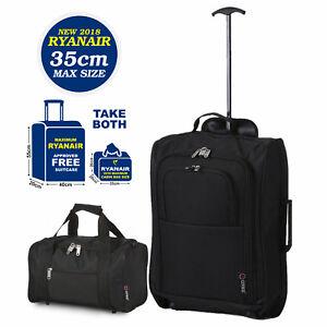 Ryanair 55x40x20cm & 35x20x20cm Als Leichtgewicht Kabine Passt Handgepäck Gepäck