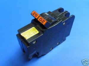 Federal Pacific 20 Amp 2 pole Thin Circuit Breaker Stab Lok FPE