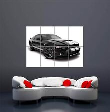 """BLUE FORD MUSTANG 2015 NEW GIANT LARGE ART PRINT POSTER PICTURE WALL 33.1/""""x23.4/"""""""