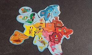 carte europe magnet savane