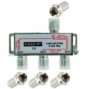 3-WAY-DIGITAL-TV-5-1000MHz-AERIAL-SAT-FREEVIEW-F-PLUG-COAX-SIGNAL-CABLE-SPLITTER