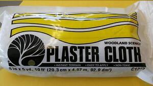 Plaster Cloth Roll 15 feet  Woodland Scenics #1203 Terrain Building-Model Trains