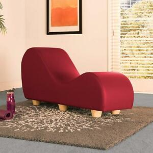 Red Ergonomic Yoga Pleasure Chair Sexual Positions Seat