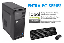 Ideal Intel Desktop PC G3900 - 4GB - 120GB SSD - DVD Writer - Windows 10 Pro