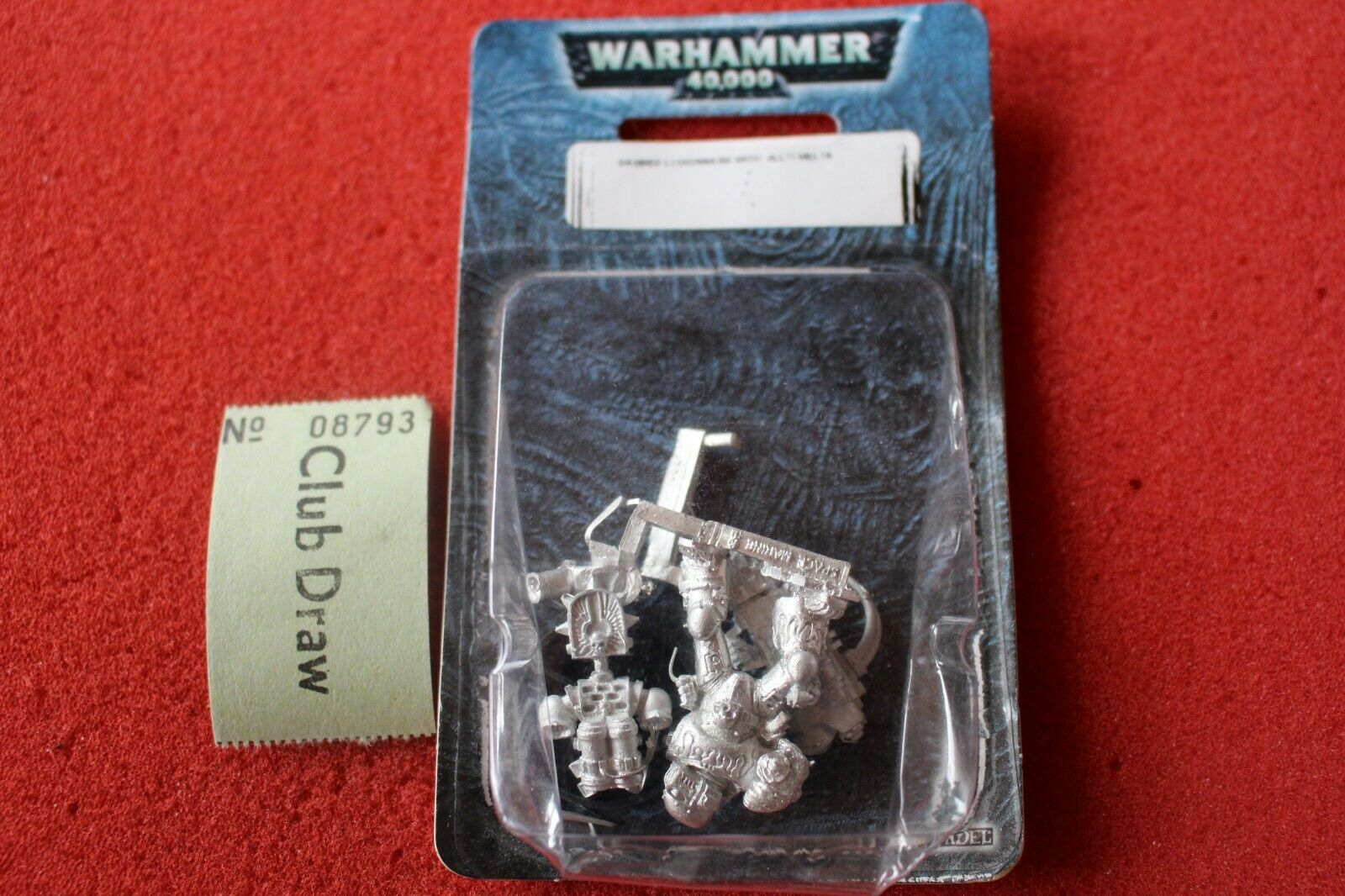 Warhammer 40k Damned Legionnaires with Multimelta Legion of the Damned Metal New