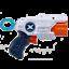 thumbnail 6 - X-Shot Double MK 3 Foam Dart Blaster Combo Pack -16 Darts 3 Cans By ZURU