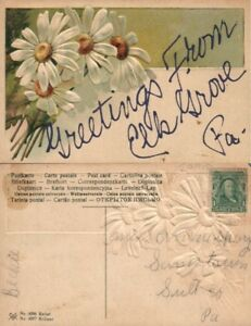 GREETINGS-FROM-HILLSGROVE-PA-EMBOSSED-ANTIQUE-POSTCARD