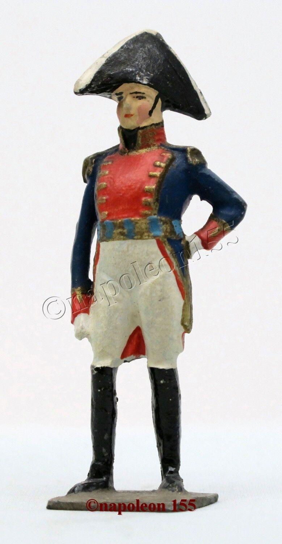 Figurine, Soldat de Plomb Ancien verdeUNNI. LARREY, I er EMPIRE