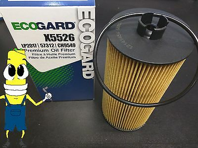 Heavy Duty Air Filter for Ford E-350 Super Duty 6.0L Diesel 2004-2010 Case of 6