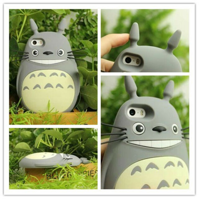 For iPhone 6 Plus 5 5S 5C 4 4G 4S Anime My Neighbor Totoro Cell Phone Case Cover