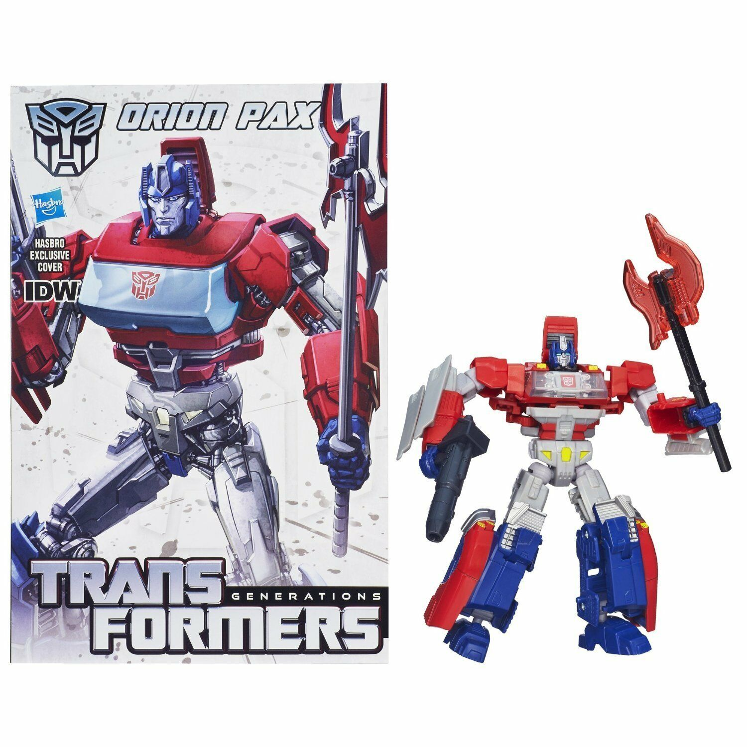 Transformers Deluxe Class ORION PAX Action Figure - Hasbro