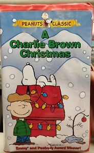 A Charlie Brown Christmas Vhs.Details About A Charlie Brown Christmas Vhs 1997 Slipsleeve Cover Peanuts Classic 1965