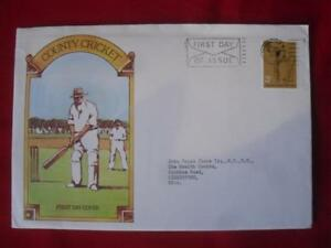 1973 GB QEII County Cricket 3 Pence Stamp FDC CDS 16 May 1973 Paddington - Hampshire, United Kingdom - 1973 GB QEII County Cricket 3 Pence Stamp FDC CDS 16 May 1973 Paddington - Hampshire, United Kingdom