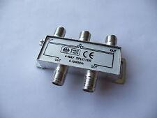 4 Way TV Cable satellite Signal Splitter for SKY Virgin media 5-1000MHz