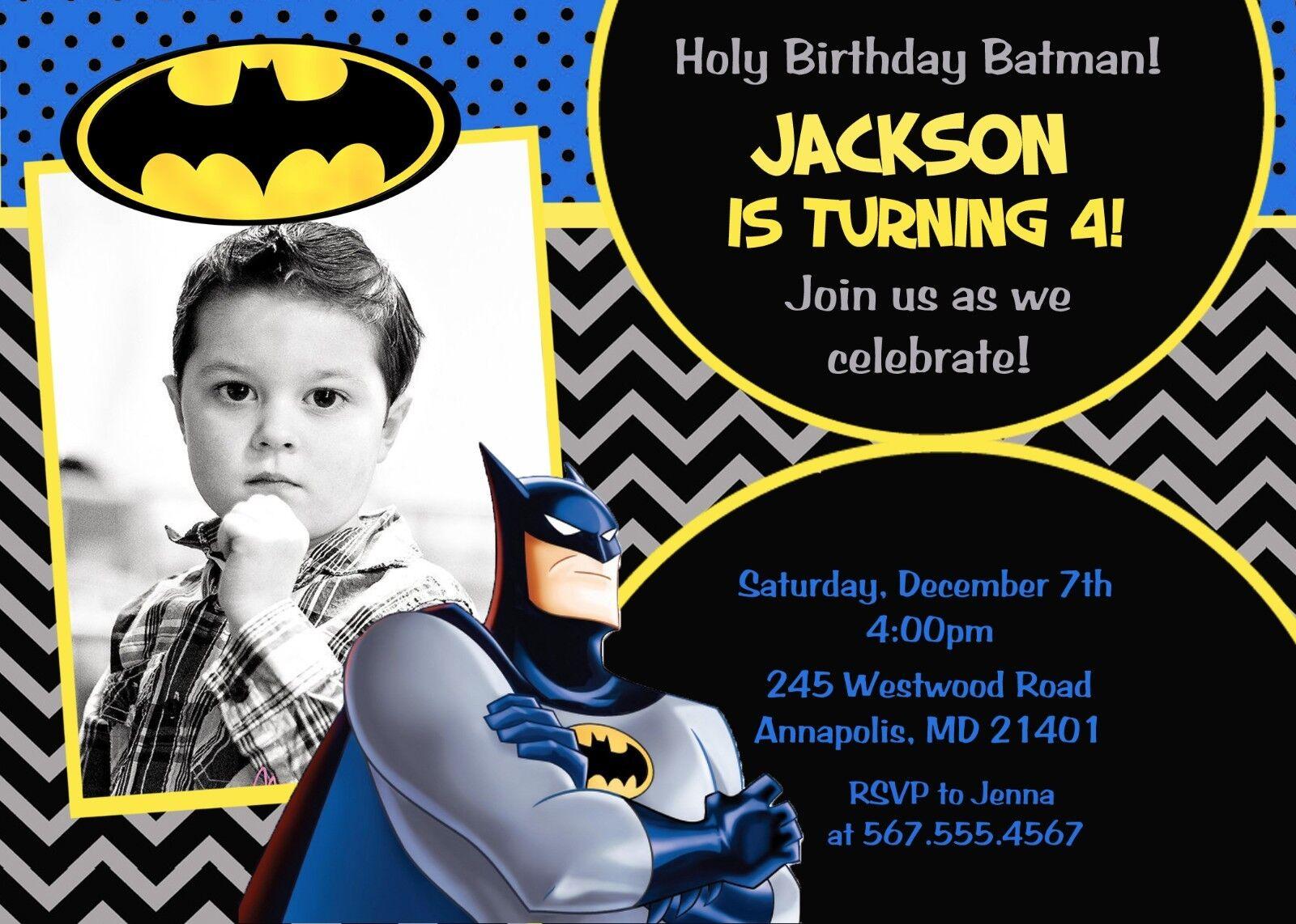 Batman, Batman, Batman, Superhero, Birthday Party, Birthday, Invitation c96ea1
