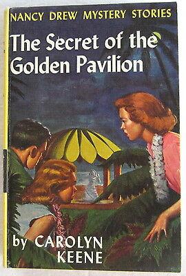 Nancy Drew #36 The Secret of the Golden Pavilion FIRST 1st PC Carolyn Keene