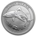 Australian Tiger Shark 2016 1/2 oz silver 1/2 dollar oncia argento 999 capsula