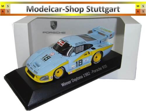 fabrikneu Spark 1:43 Porsche 935 Winner Daytona 1982 MAP02028214