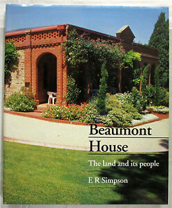 Beaumont-House-The-Land-and-Its-People-Simpson-1st-Ed-HCDJ-1993-VERY-GOOD