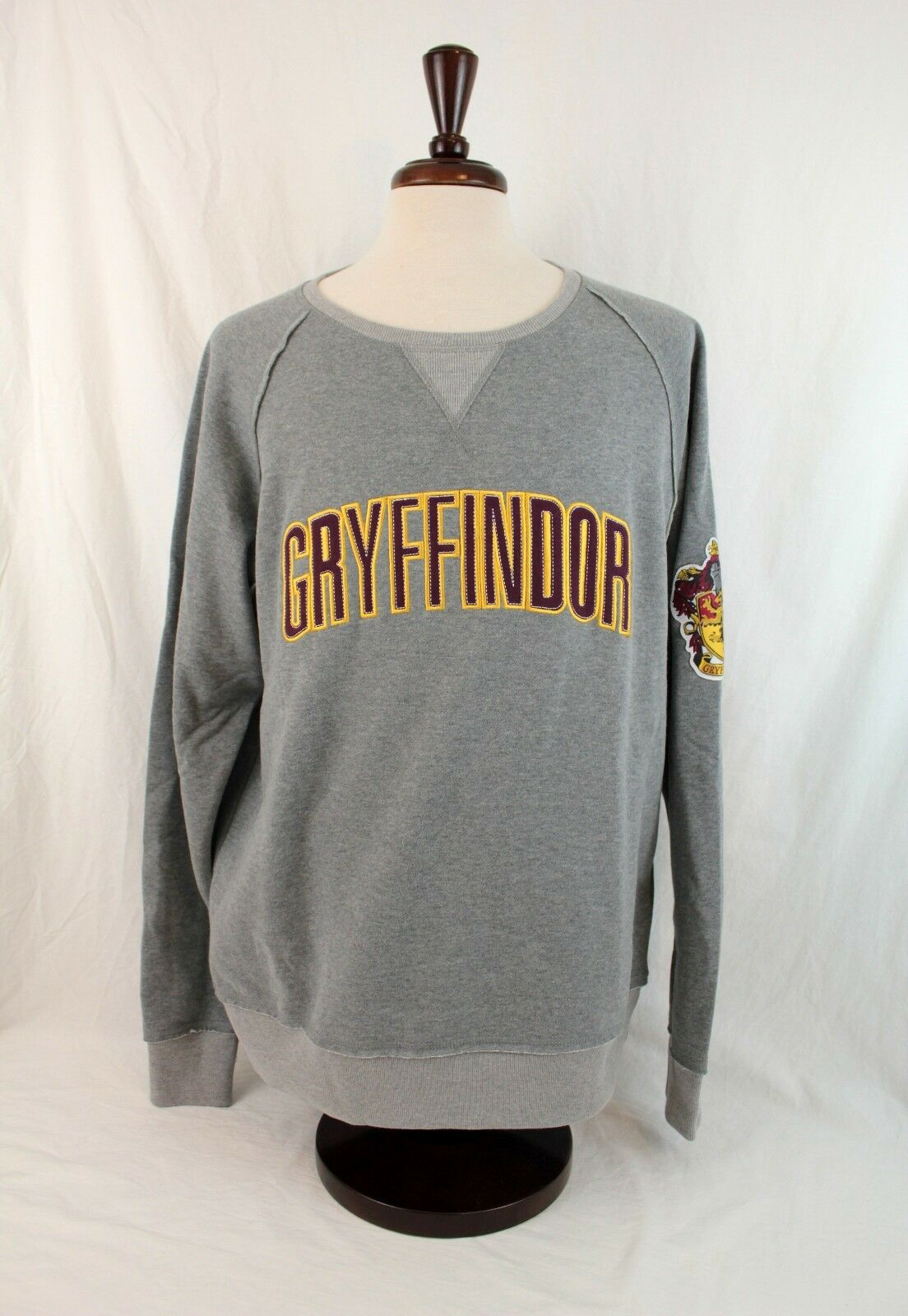 Wizarding World Of Harry Potter Gryffindor Varsity Sweater XS S M L XL XXL