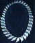 Vintage-Tiffany-amp-Co-Peretti-Sun-Wave-Necklace-Sterling-Silver-17-034-Very-Rare thumbnail 3