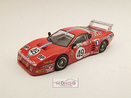 FERRARI 512 BB Le Mans Le Mans 1981 Cudini  49 Best 1:43 be9385 DIECAST MODEL