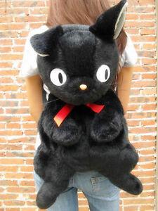 70cm Studio Ghibli Black Cat Jiji Kiki S Delivery Service Backpack Plush Bag Big Ebay