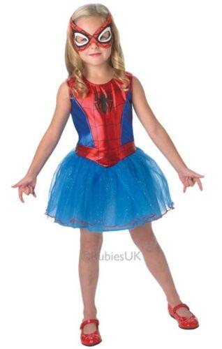 Mädchen Spidergirl Spiderman Tutu Super Hero büchertag Kostüm Kleid Outfit