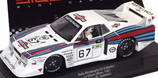 RACER SIDEWAYS SW22 LANCIA BETA MONTECARLO MARTINI GROUP 5  1 32 SLOT CAR