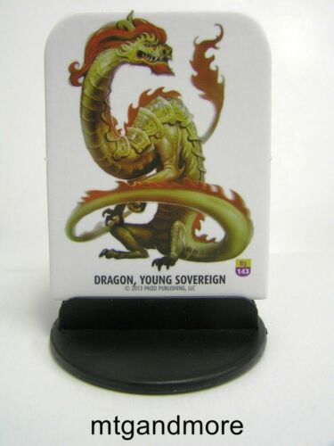 #143 Dragon Young Sovereign Pathfinder Battles Pawns // Tokens Bestiary 3